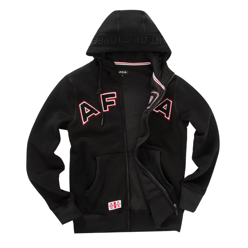 vest AFCA black zipped