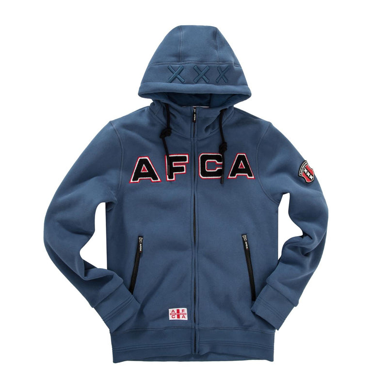 vest AFCA blue zipped