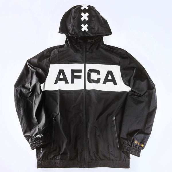 Windbreaker zwart AFCA full zip