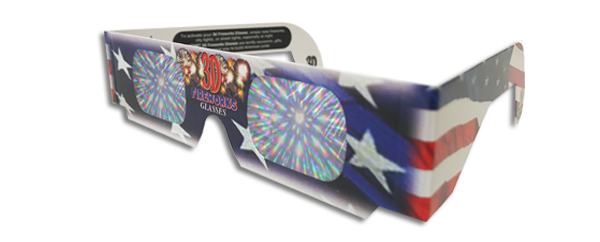 3D Fireworks Glasses