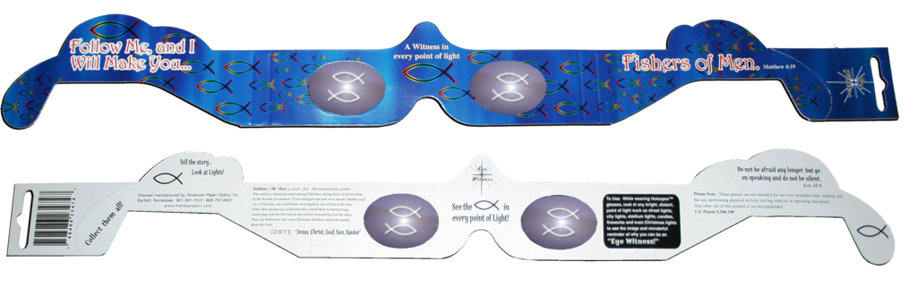 Ichthus- Eye Witness Glasses™