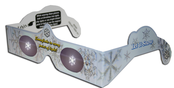 Snowflake - Holiday Specs