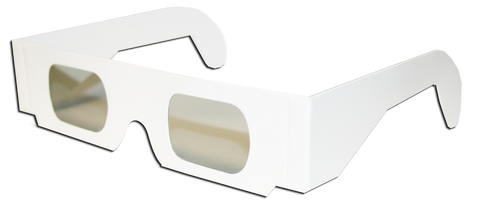Linear Polarized 3D Glasses