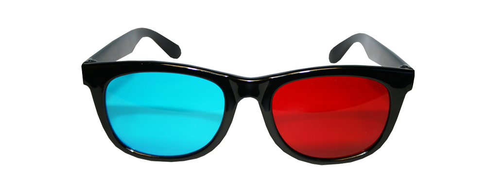 "Anaglyphic Plastic ""Classic"" Style"