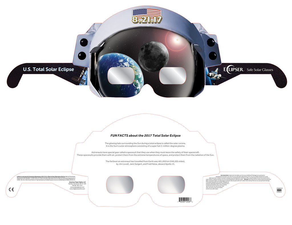 Astro Eclipse Glasses