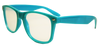 Blue Plastic Diffraction Glasses