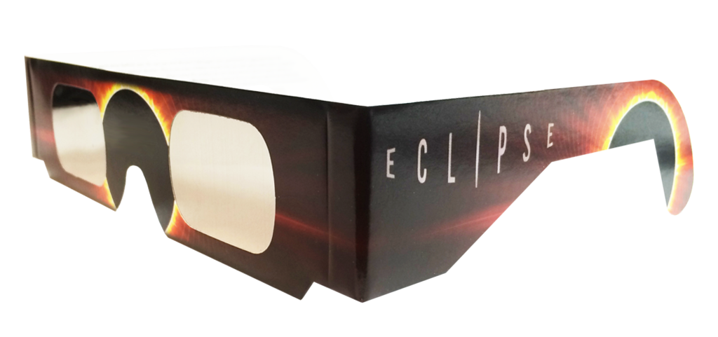 Eclipse Glasses- Burning Sun