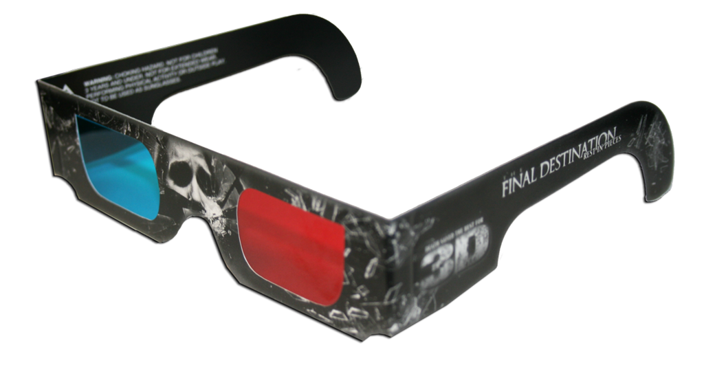 The Final Destination 3D Glasses