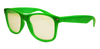 Green Plastic Diffraction Glasses