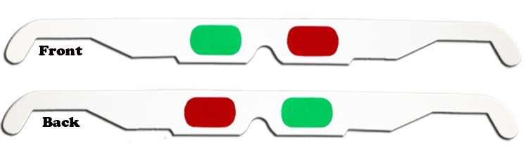 3D Anaglyph - Red/Green