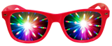 Pink Plastic Diffraction Glasses