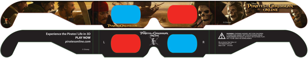 Pirates of the Caribbean 3D