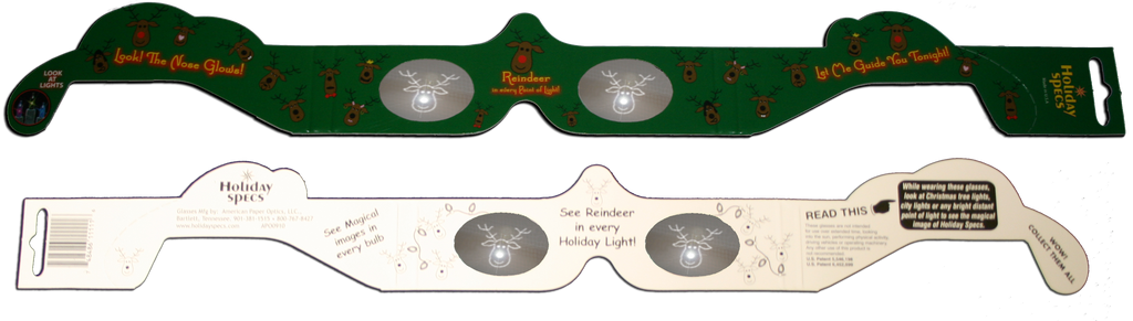 Reindeer - Holiday Specs