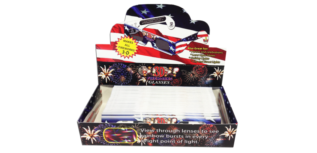3D Fireworks Retail Box