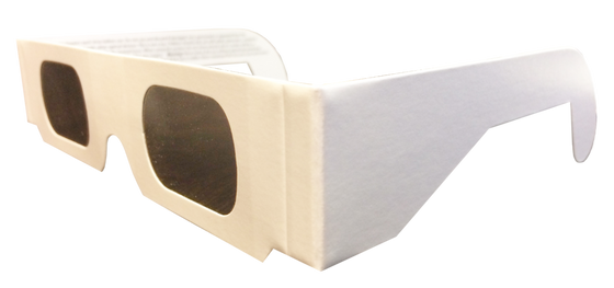 Eclipse Glasses- Plain White