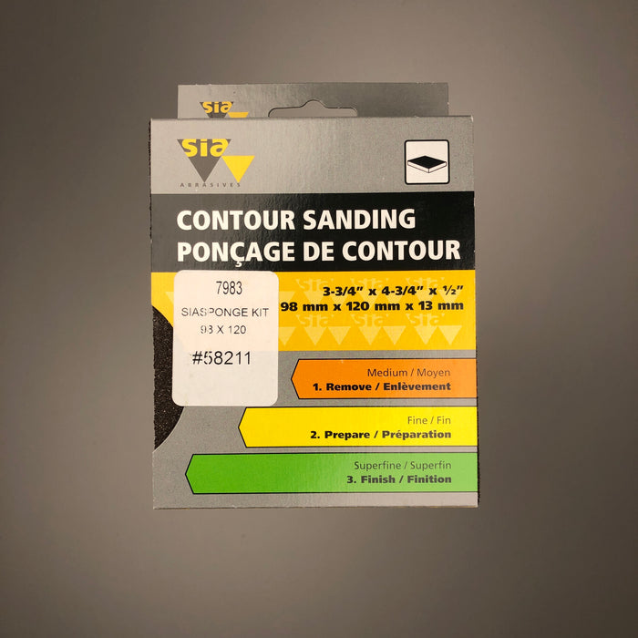3 Pack - Contour Sanding Blocks