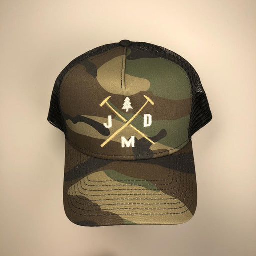 Jeff Mack Designs- Camo Snapback - Jeff Mack Supply