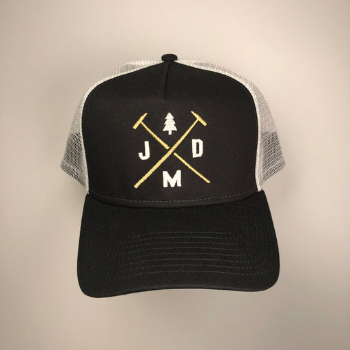 Jeff Mack Designs- Black/White Snapback - Jeff Mack Supply