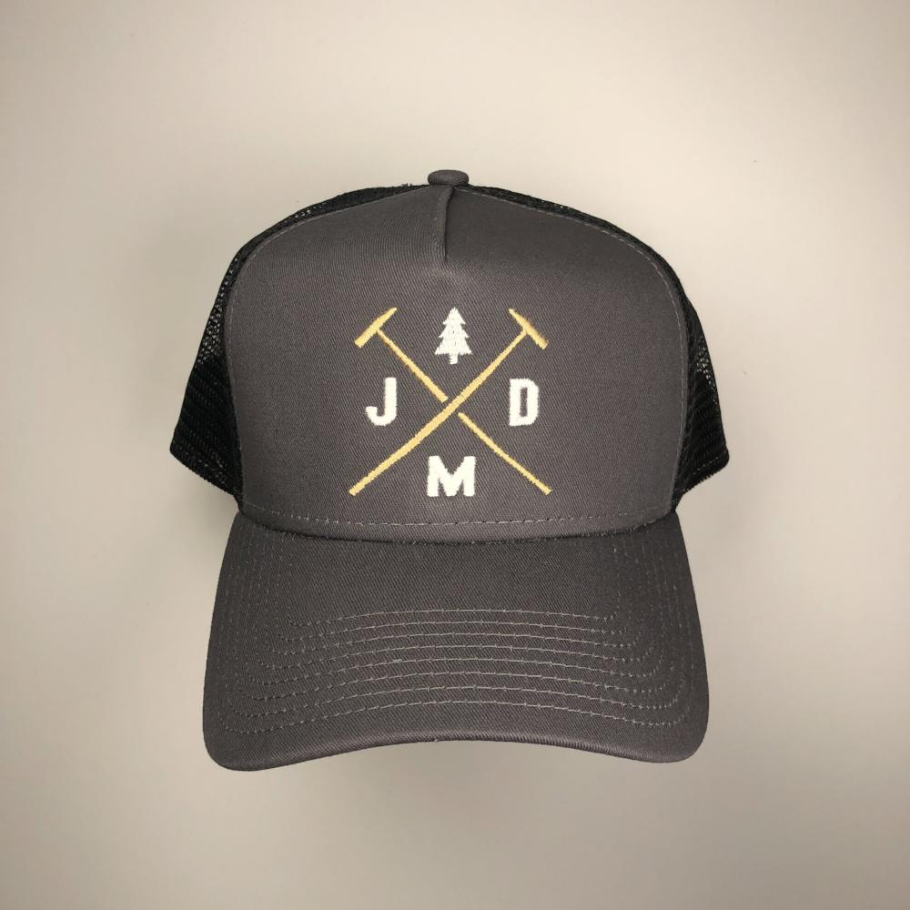 Jeff Mack Designs- Grey/Black Snapback - Jeff Mack Supply