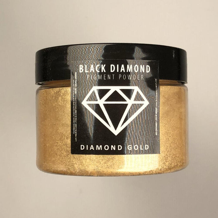 Diamond Gold- Black Diamond Metallic Pigment - Jeff Mack Supply