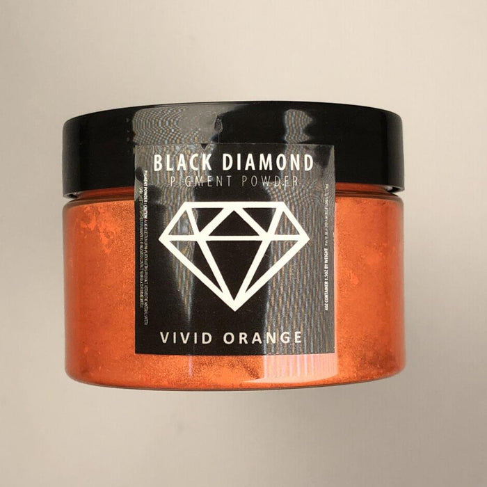 Vivid Orange- Black Diamond Metallic Pigment - Jeff Mack Supply