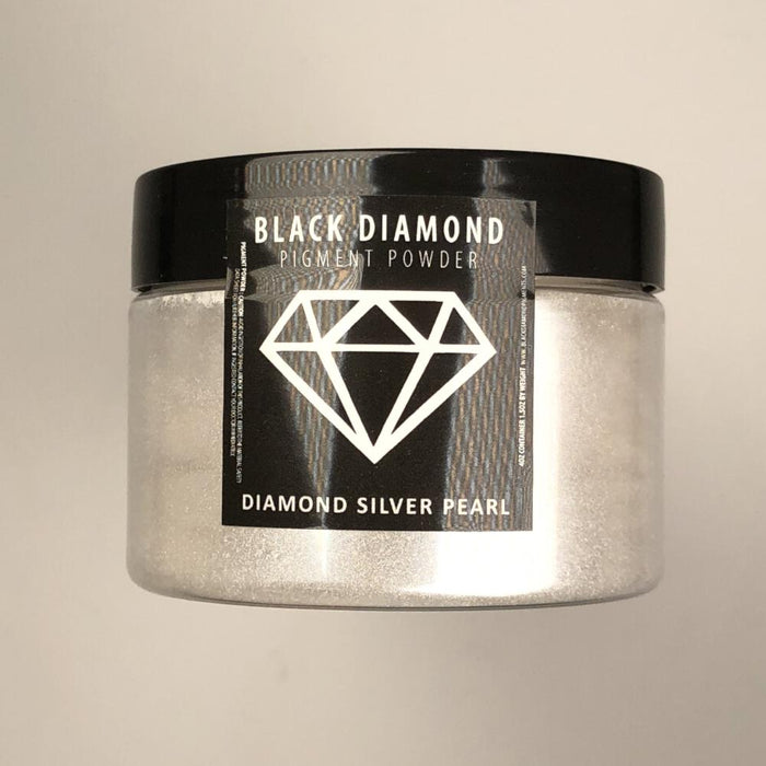Diamond Silver pearl- Black Diamond Metallic Pigment - Jeff Mack Supply