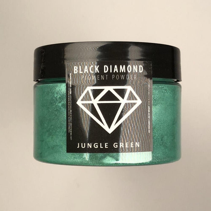 Jungle Green- Black Diamond Metallic Pigment - Jeff Mack Supply