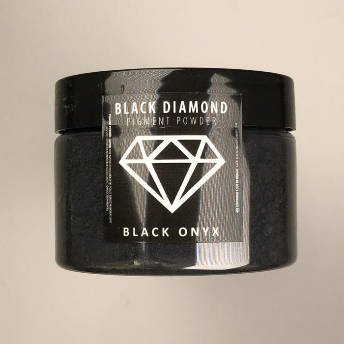Black Onyx- Black Diamond Metallic Pigment - Jeff Mack Supply