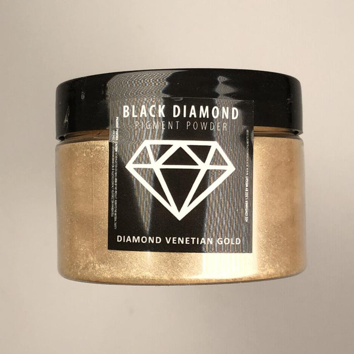 Venetian Diamond Gold- Black Diamond Metallic Pigment - Jeff Mack Supply