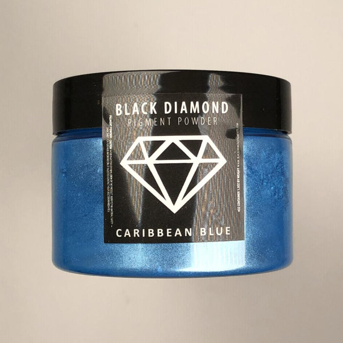 Caribbean Blue- Black Diamond Metallic Pigment - Jeff Mack Supply