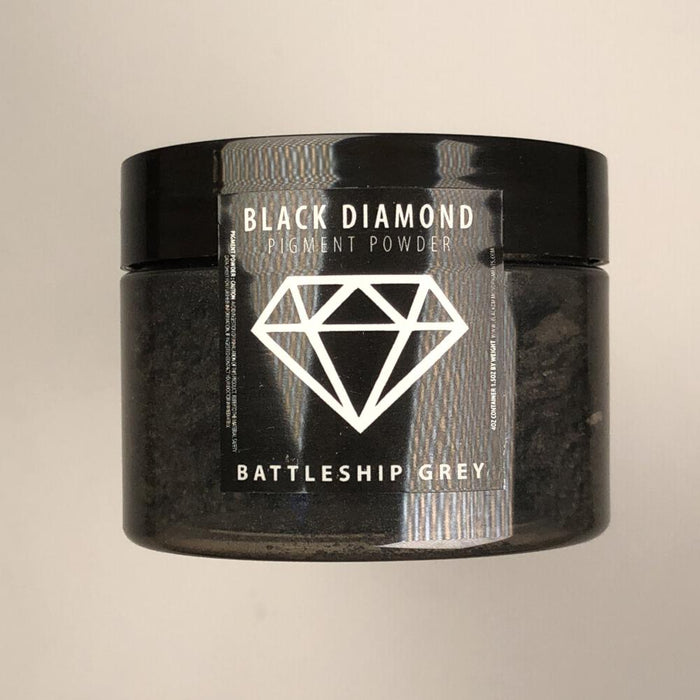 Battleship Grey- Black Diamond Metallic Pigment - Jeff Mack Supply