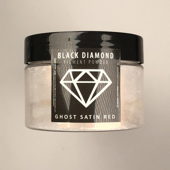 Ghost Satin Red- Black Diamond Metallic Pigment - Jeff Mack Supply