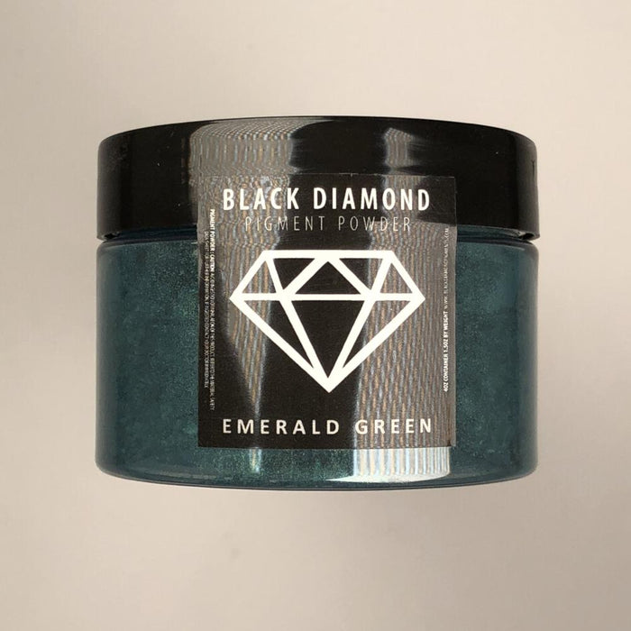 Emerald Green- Black Diamond Metallic Pigment - Jeff Mack Supply