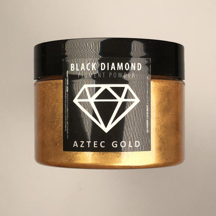 Aztec Gold- Black Diamond Metallic Pigment - Jeff Mack Supply