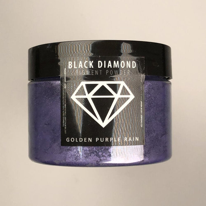 Golden Purple Rain- Black Diamond Metallic Pigment- 2 Tone Series - Jeff Mack Supply