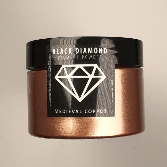 Medieval Copper- Black Diamond Metallic Pigment - Jeff Mack Supply
