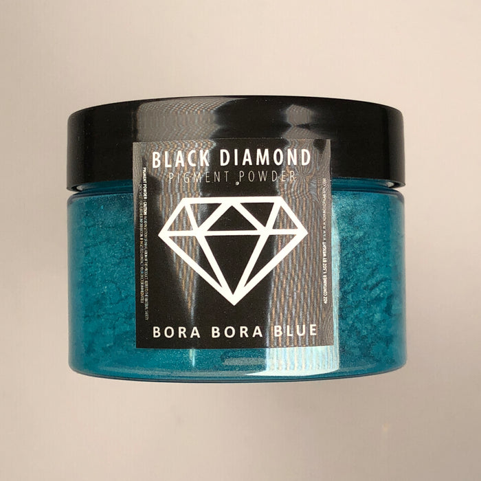 Bora Bora Blue- Black Diamond Metallic Pigment - Jeff Mack Supply