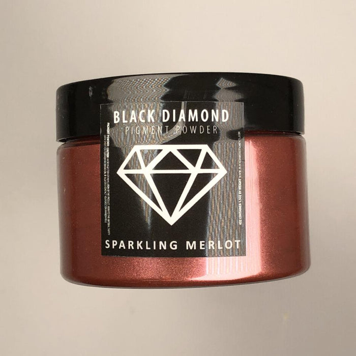 Sparkling Merlot- Black Diamond Metallic Pigment - Jeff Mack Supply