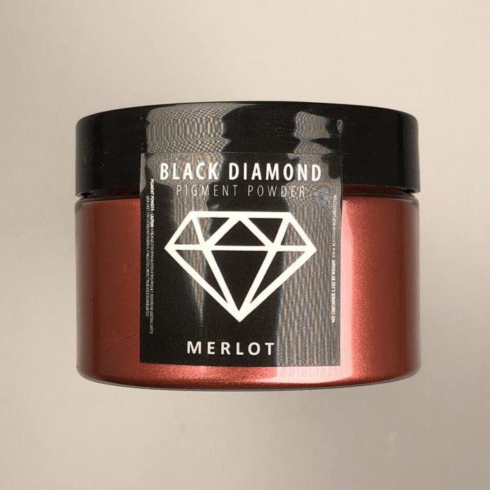Merlot- Black Diamond Metallic Pigment - Jeff Mack Supply