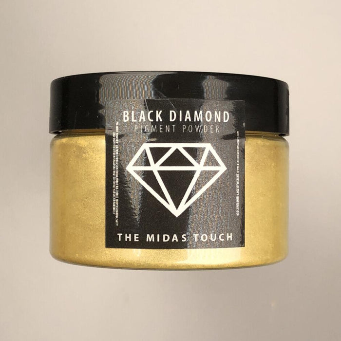 The Midas Touch- Black Diamond Metallic Pigment - Jeff Mack Supply