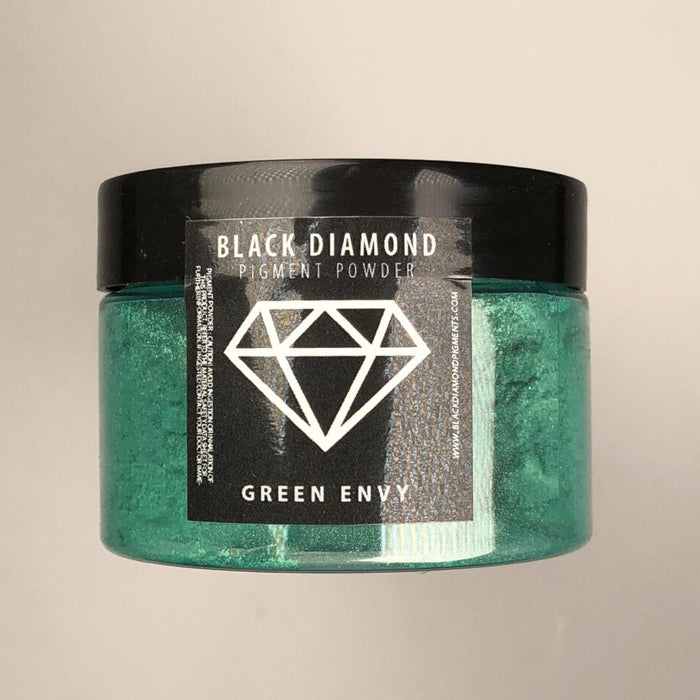 Green Envy- Black Diamond Metallic Pigment - Jeff Mack Supply