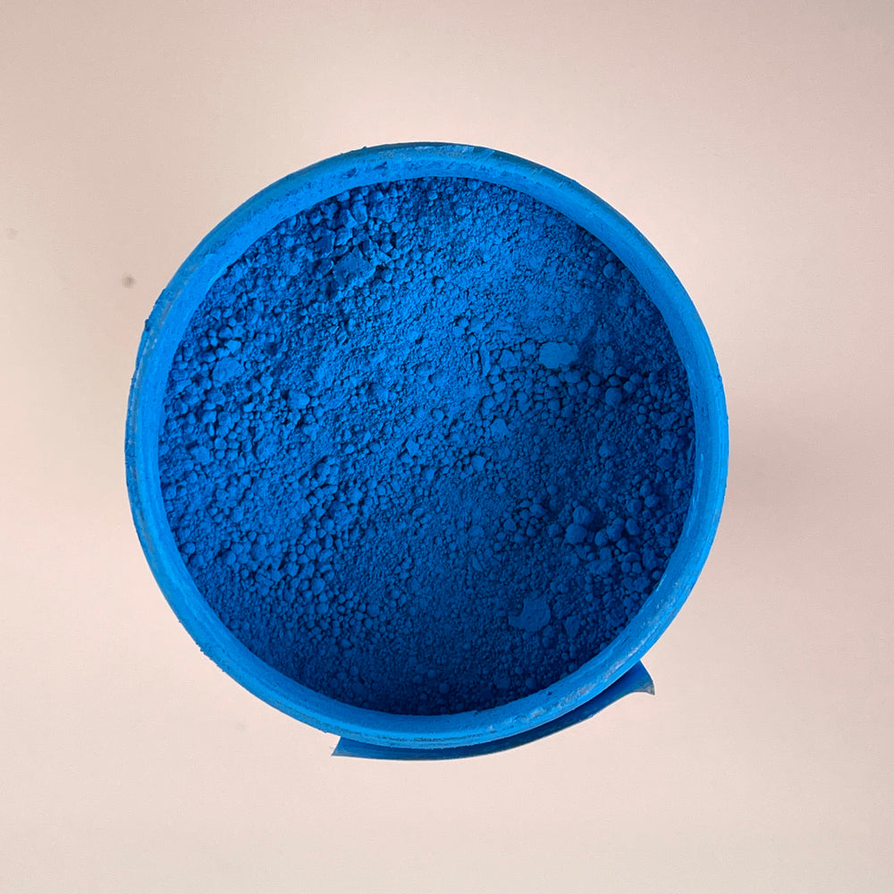 Fluorescent Blue - Black Diamond Metallic Pigment