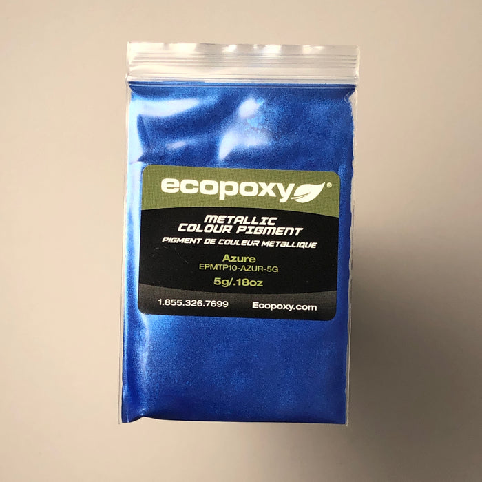 Metallic Color Pigment Set #1- Ecopoxy