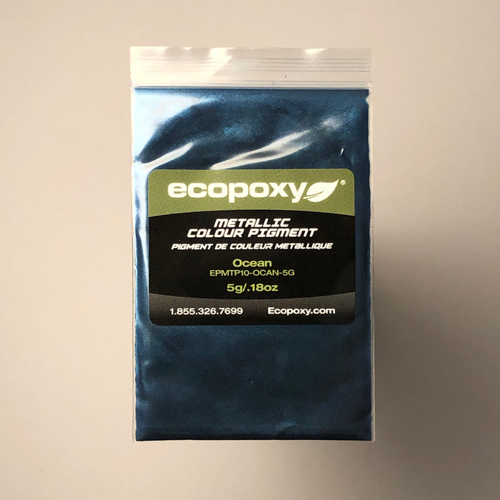 Metallic Color Pigment Set #2- Ecopoxy