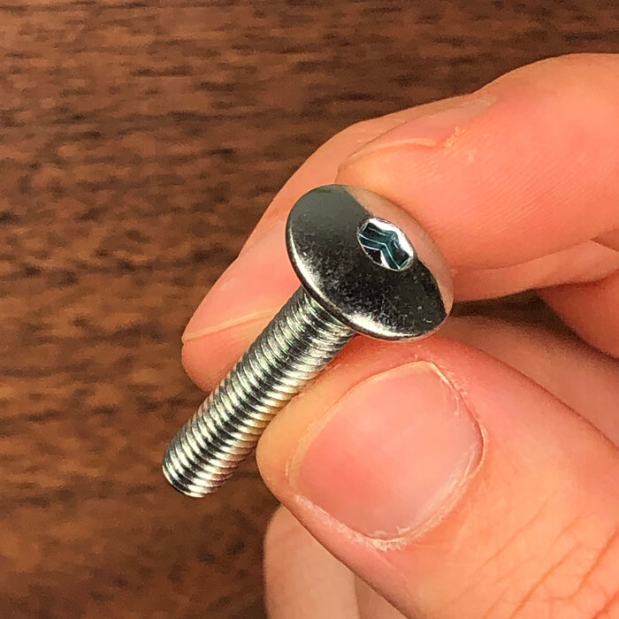 Rampa Mushroom Head Screws M6