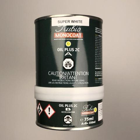 Rubio Monocoat Super White 2C Oil