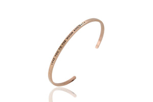 Rose Love You To The Moon & Back Bangle