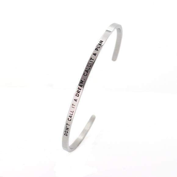 Call It A Plan Bangle - DayDream Jewellery