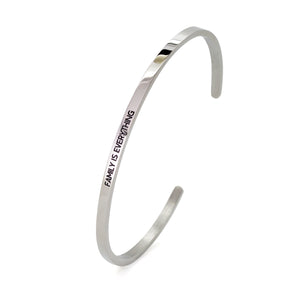 Family Is Everything Bangle - DayDream Jewellery