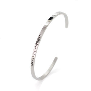Love Is All You Need Bangle - DayDream Jewellery